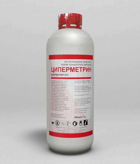 Циперметрин 25: инструкция по применению, основа, как разводить от клещей, влияние на человека